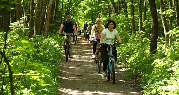 Велоэкскурсии по Кумысной поляне