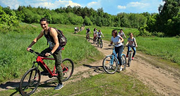 Экскурсия на велосипедах по Кумысной поляне